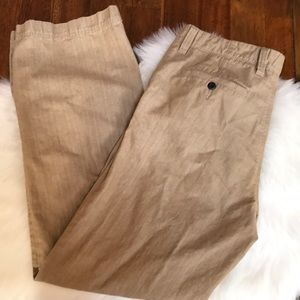 Express Producer chinos 34W 34 L Tan with Pockets